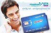 Bán sim 3G Vinaphone ezCom 42Gb khuyến mãi cực sốc