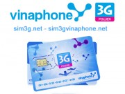 Tẹt ga vào mạng cùng sim 3g vinaphone 20Gb không giới hạn