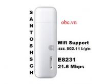 Đánh giá tổng quan về USB 3g E8231 phát wifi giá rẻ