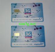 Sim 3G Vinaphone tài khoản KHỦNG