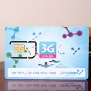 Sim 3G Vinaphone nghe gọi, lướt web 12 tháng