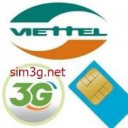 Sim Dcom 3G Viettel 72Gb 6 tháng trọn gói