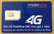Sim 3G/4G Mobifone OBC 48Gb trọn gói 1 năm