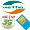 Sim 3g Viettel Dcom 60Gb khuyến mãi lớn